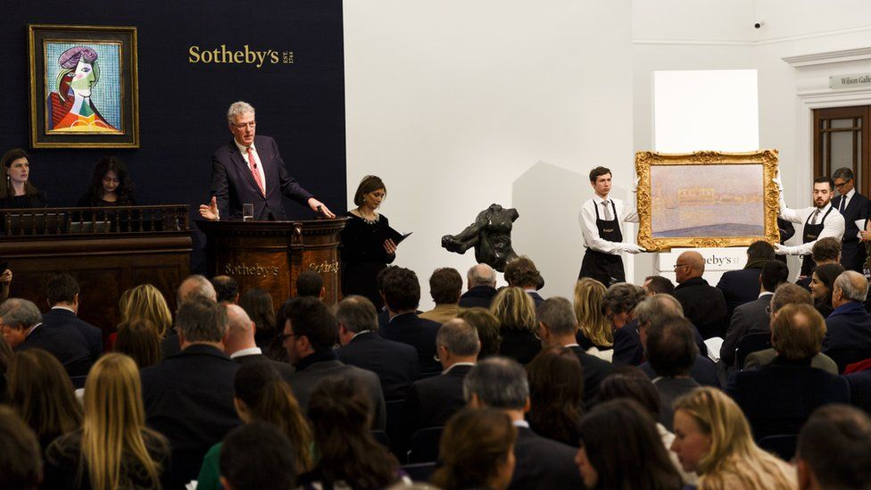 Sale at Sotheby's on 3 February