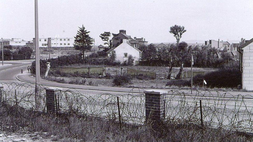 The Manse field off Springfield Road in west Belfast