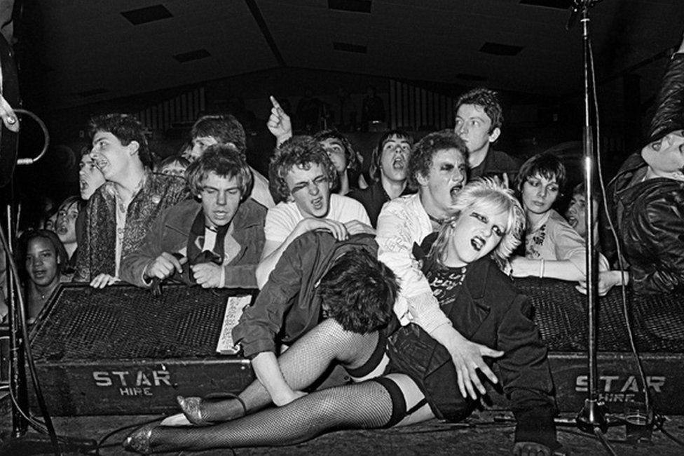 Militant Entertainment tour, West Runton Pavilion, Cromer, Norfolk, 1979