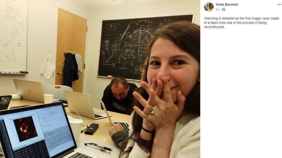 Como soluções matemáticas criadas por uma jovem cientista possibilitaram 1ª foto de buraco negro