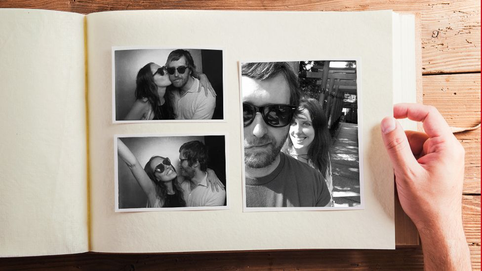 Photos of Jon Kelly and Kathy, his fiancee