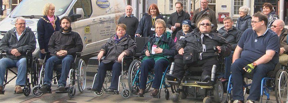 Wheelchair challenge