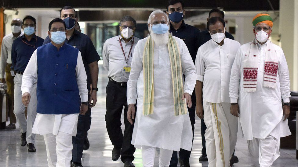 Indian parliament opens amid Pegasus spyware row - BBC News