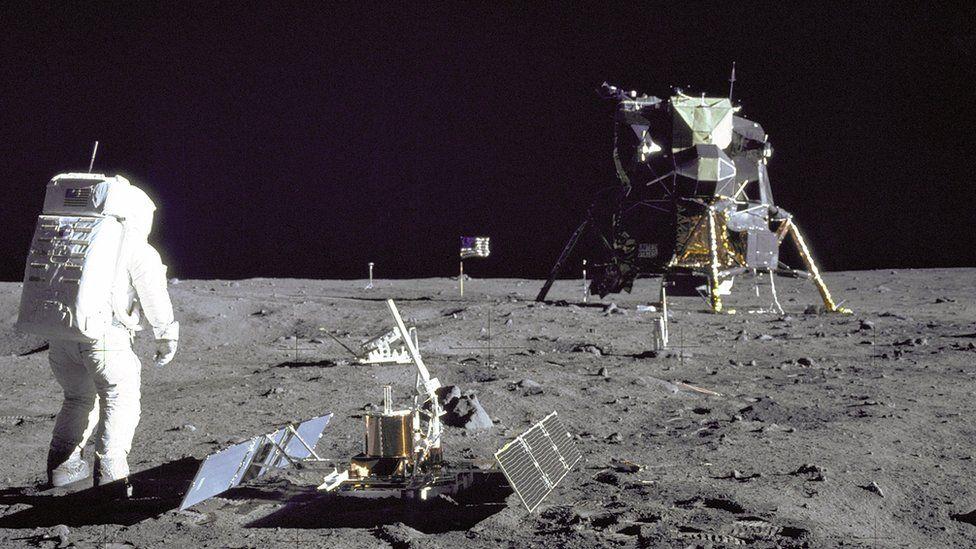 Болдрин на Луне