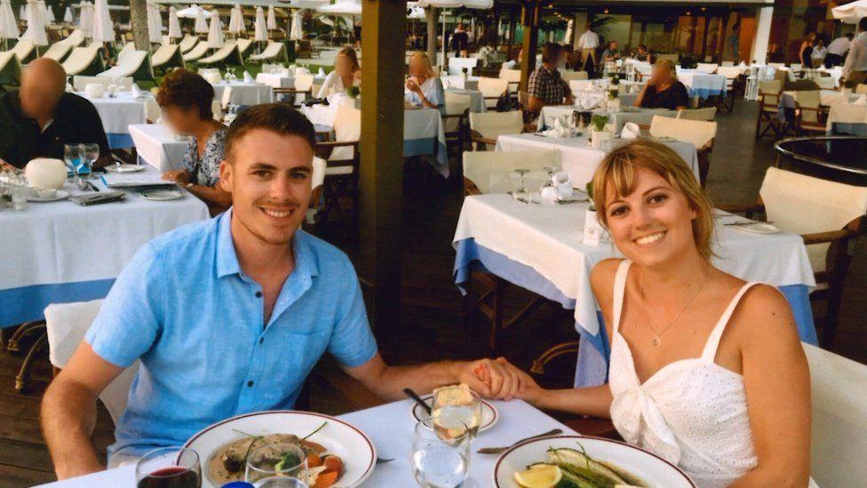 Stuart Moorat and Georgina Le Prevost