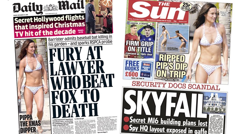 The Papers 27 December 2019