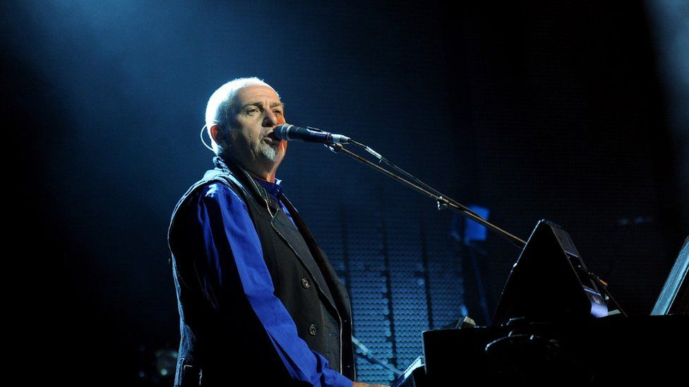 Peter Gabriel performing at Womad in 2009