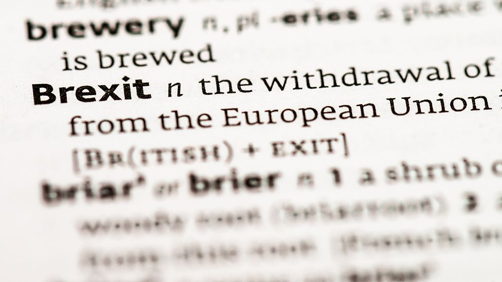 Brexit definition in a dictionary