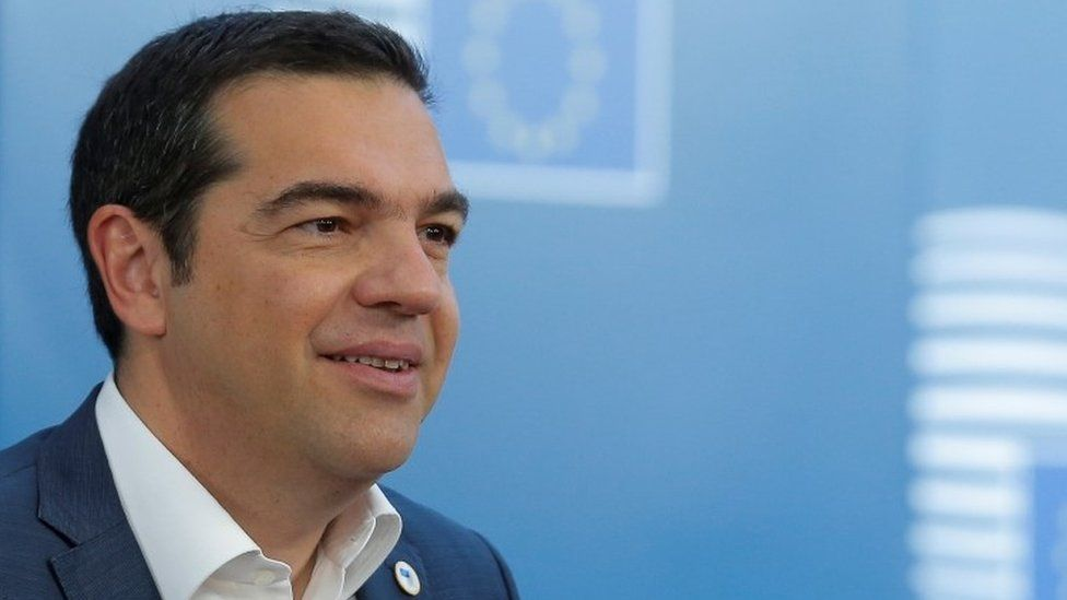 The Greek prime minister accused Turkish fighter jets of entering Greek airspace