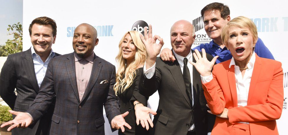 The cast of Shark Tank US