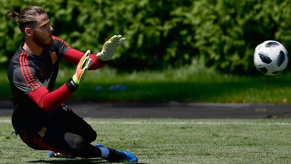 Spain goalkeeper David De Gea