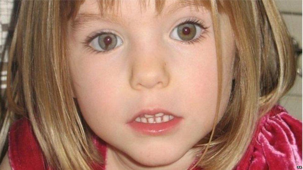 Madeleine McCann disappeared in Portugal in 2007