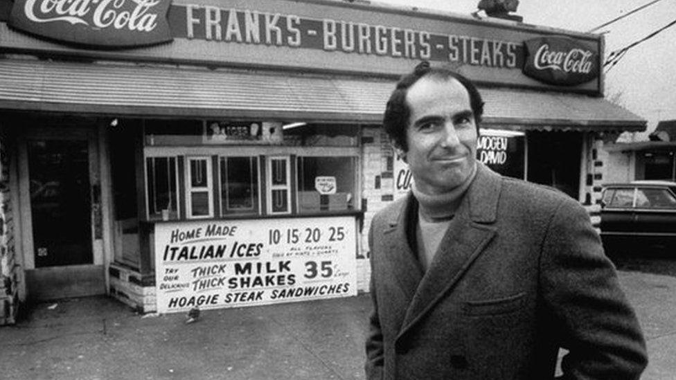 Philip Roth in Newark