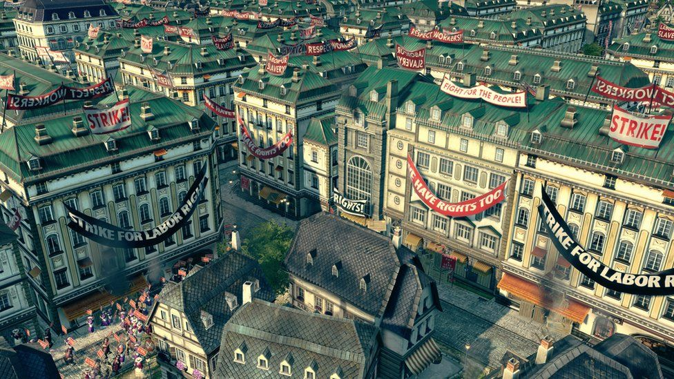 A screenshot from Anno 1800