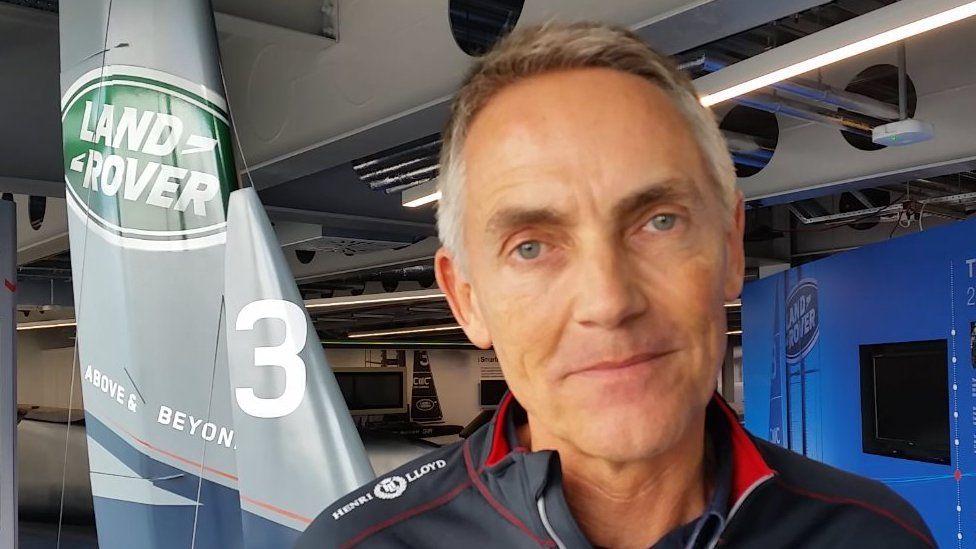 Martin Whitmarsh CEO Land Rover BAR