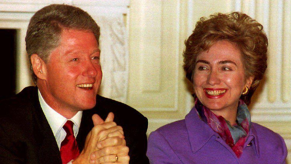 Clintons in 1993