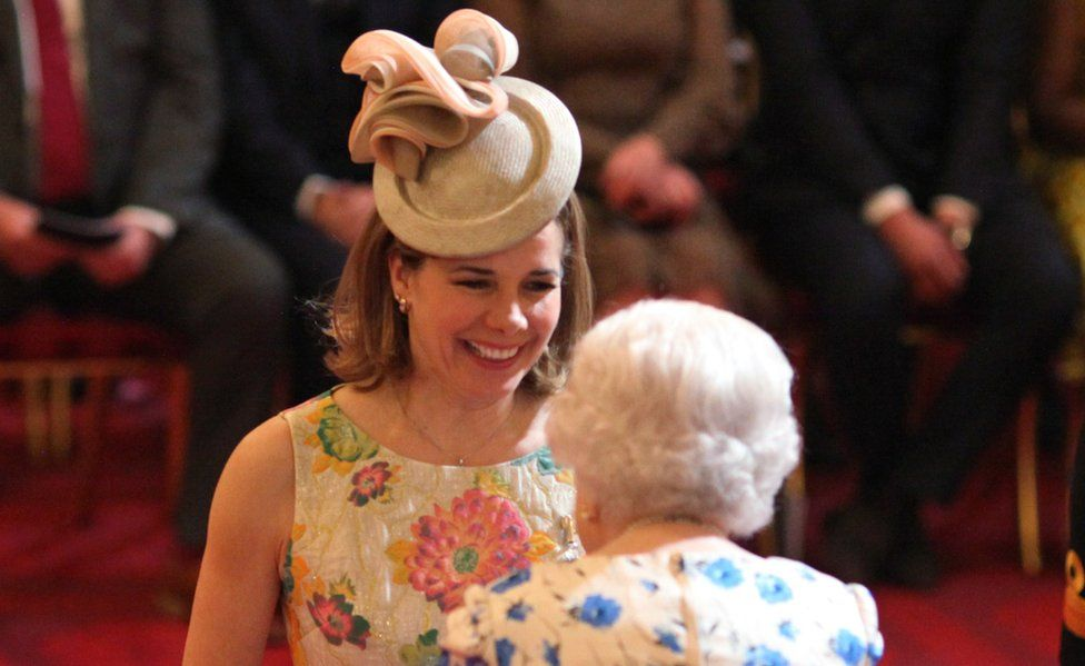 Darcey Bussell and The Queen