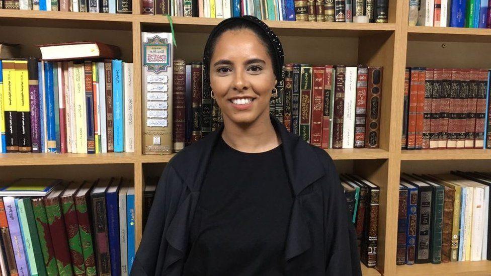Haifa Shamsan, 29, believes many people need to update their view of Muslim women