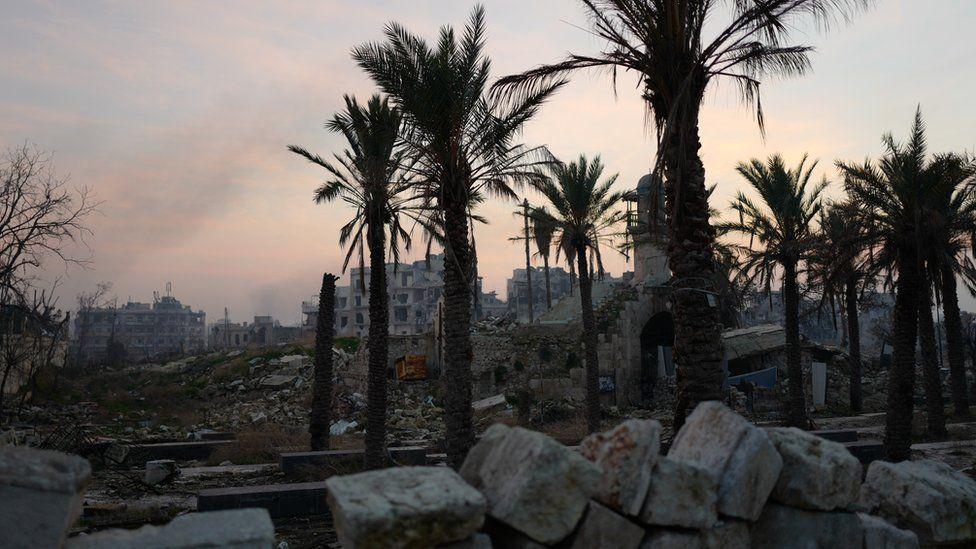 East Aleppo devastation