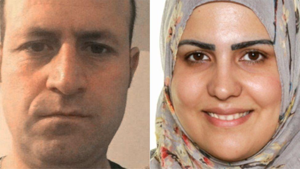 Bassem Choukair and his wife Nadia