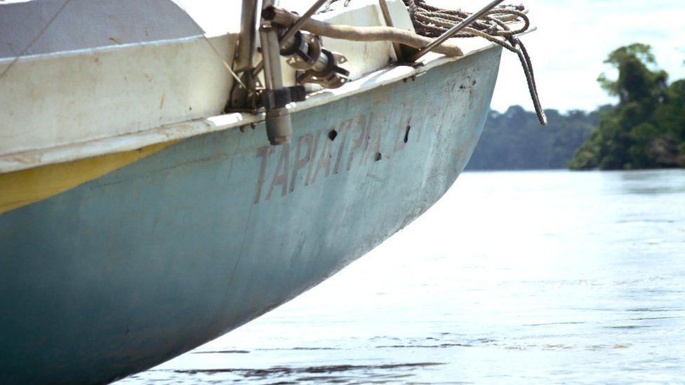 Ecuador's solar canoe in the Amazon