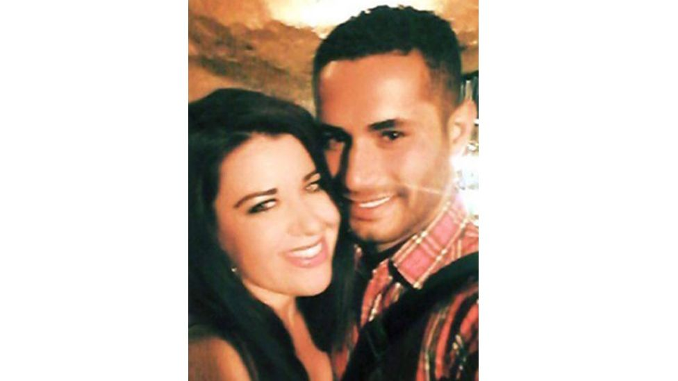 Laura Plummer and her partner Omar Caboo