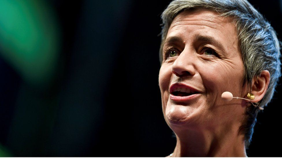 Margrethe Vestager, the European Commissioner for Competition, has the tech firms in her sights