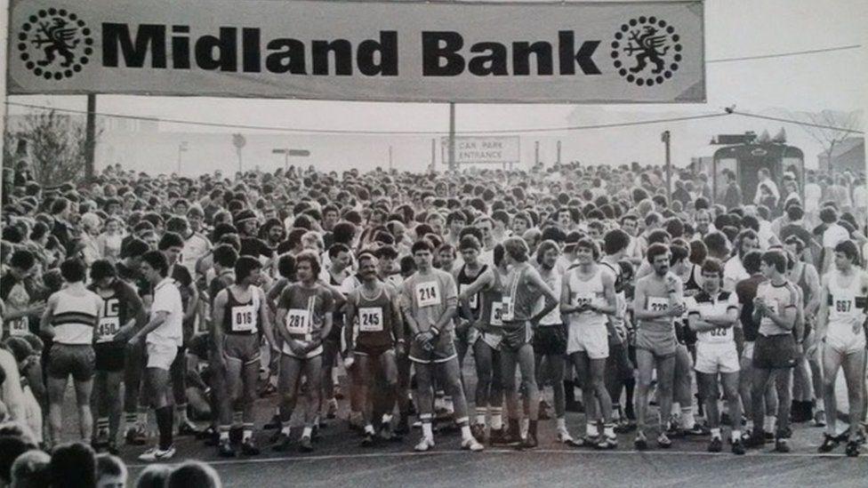The Harwich Half Marathon in the 1980s