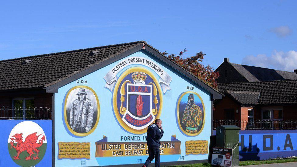 UDA mural in east Belfast