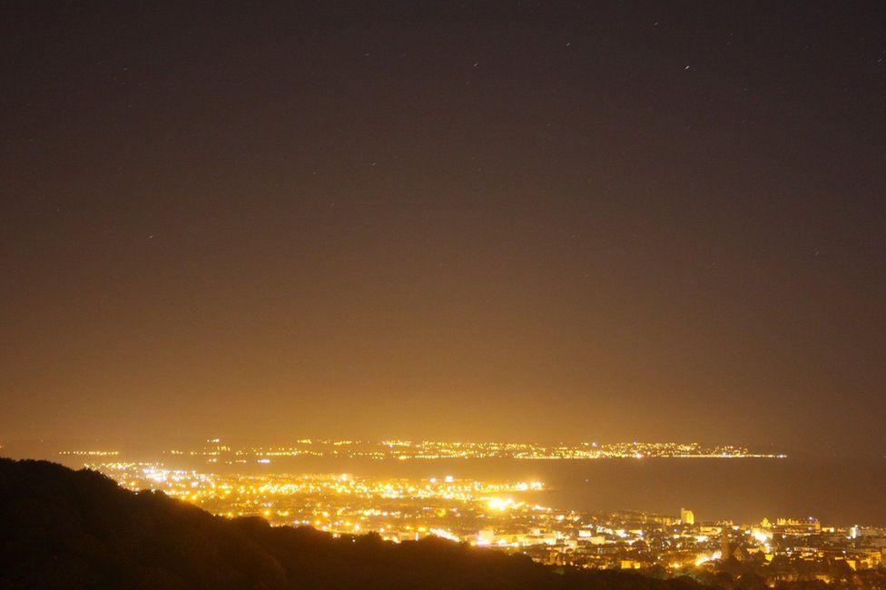 Eastbourne light pollution