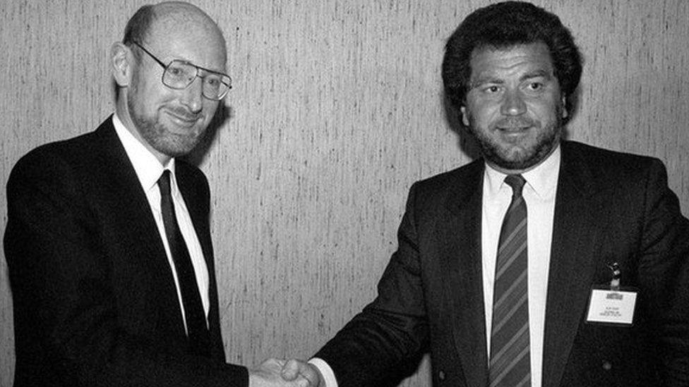 Clive Sinclair & Alan Sugar