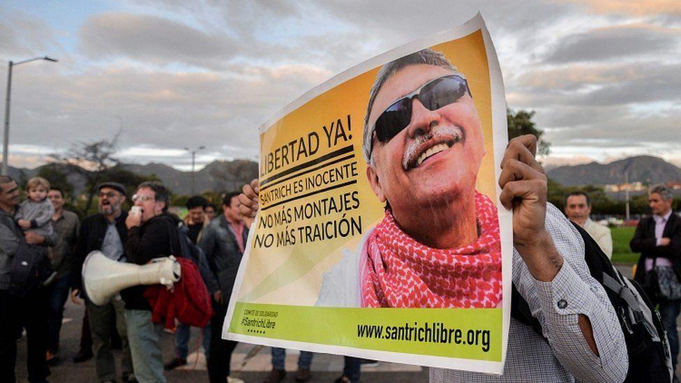 Jesús Santrich: liberan y vuelven a detener al exguerrillero de las FARC en medio de crisis política en Colombia