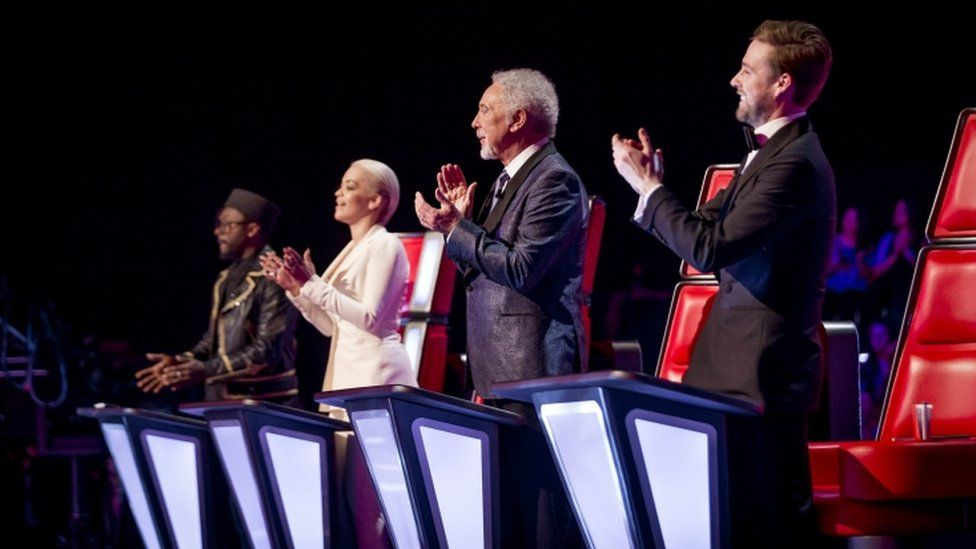 The voice series 4 judging panel
