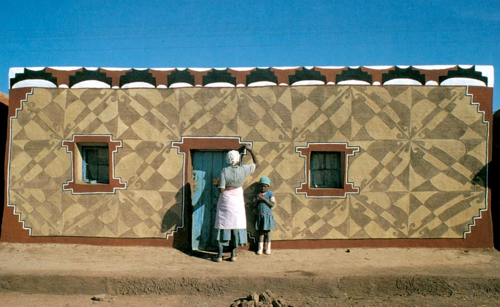 A Basotho House in Lesotho