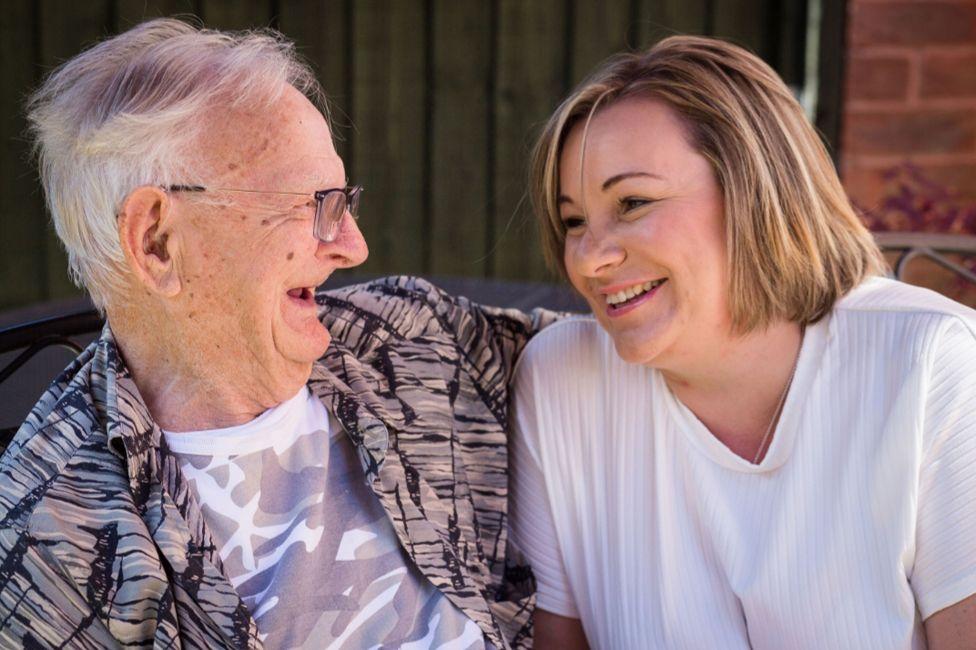 Roy Cooper and granddaughter Ceri-Anne