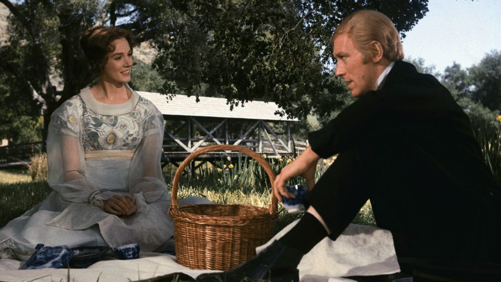 Julie Andrews and Max Von Sydow