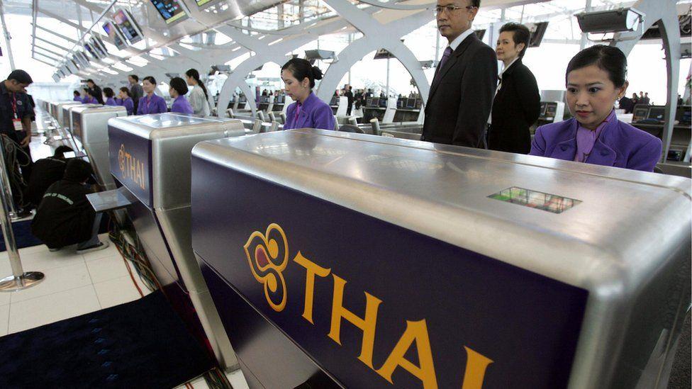 Thai counter in BKK