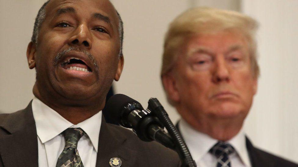 Carson and Trump