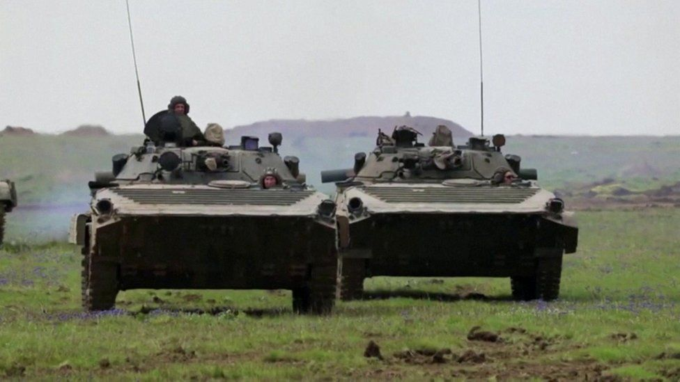Russia Launches Mass Multi-Forces Military Drills in Crimea