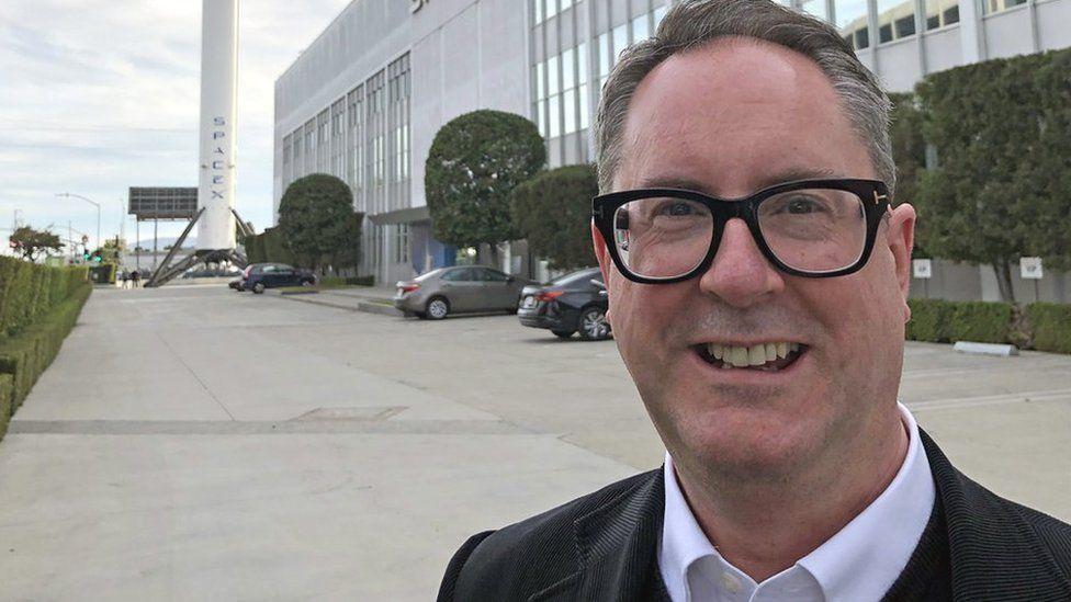 British space venture capitalist Mark Boggett
