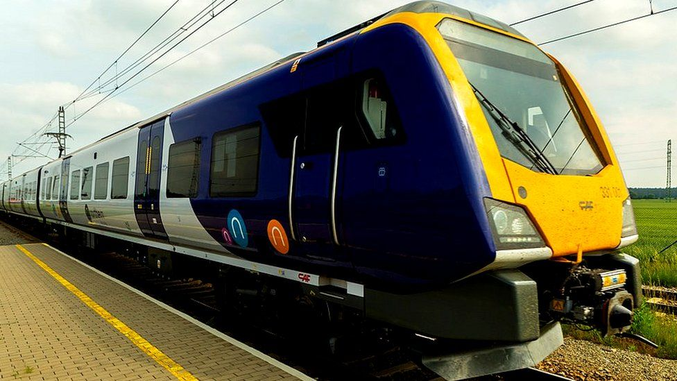 Northern launches new £500m fleet of 101 trains