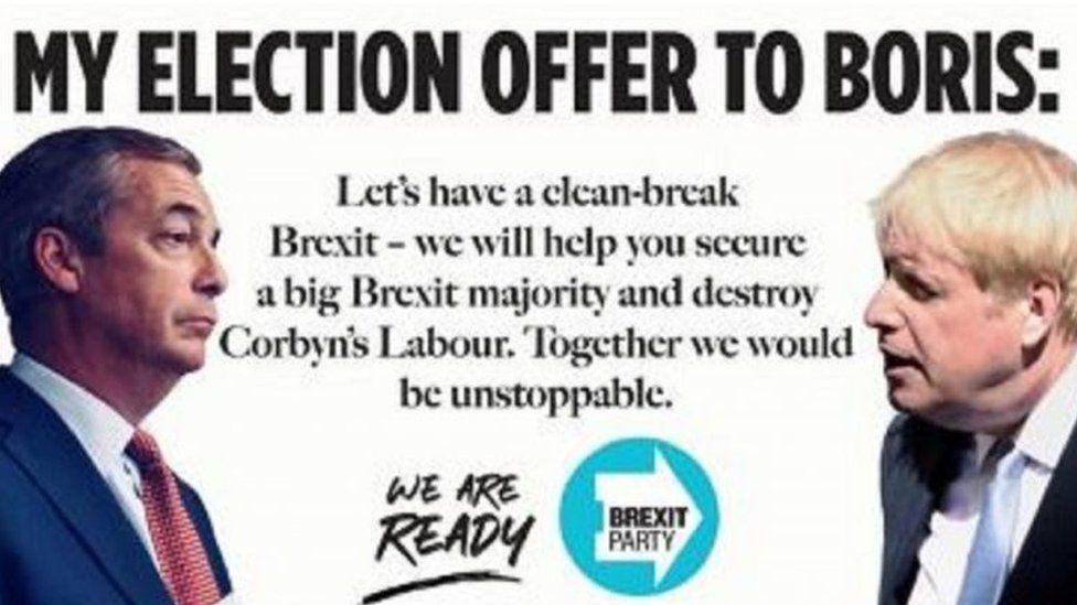 The Brexit Party advert