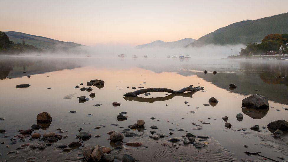Mist over Loch Tay