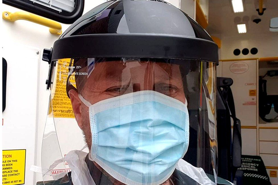 Jamie in PPE