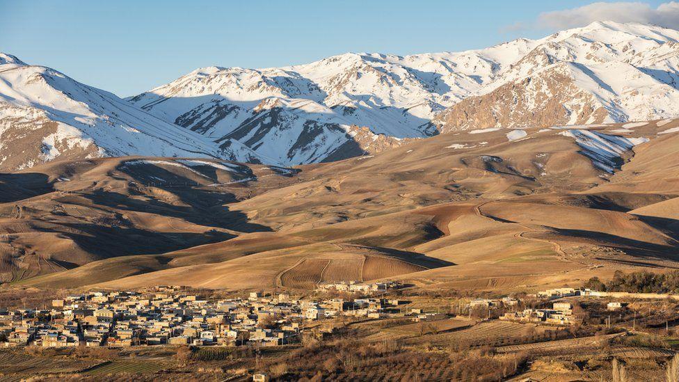 Zagros mountains near Borujerd