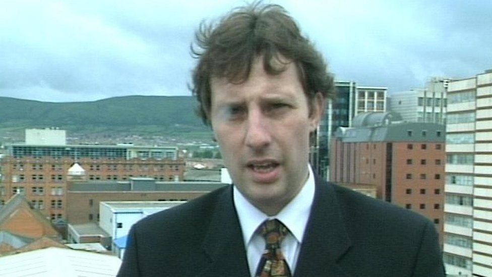 Ian Paisley in 1998