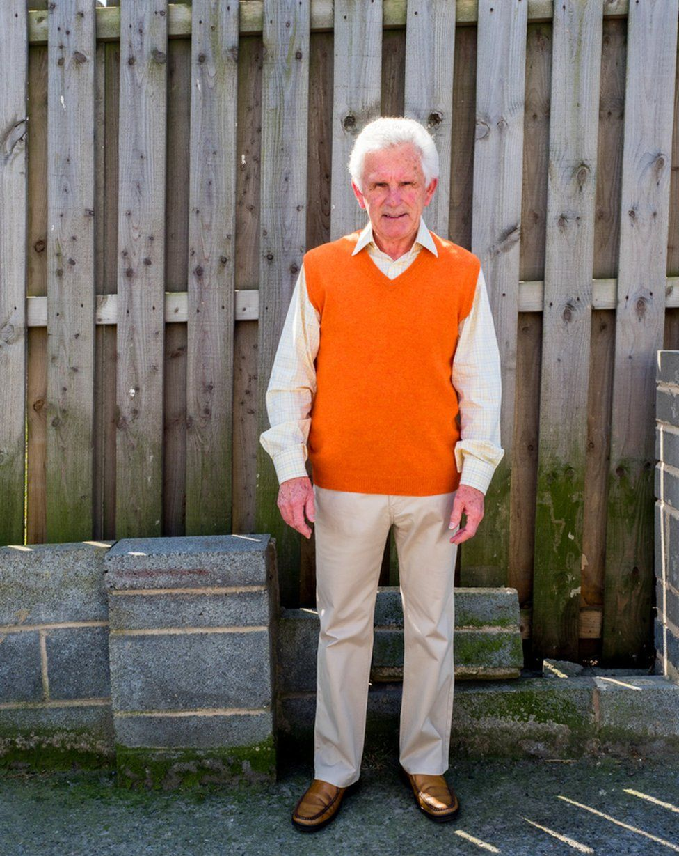 76 year old Norman lives in a retirement home close to the A1. Darrington, West Yorkshire.