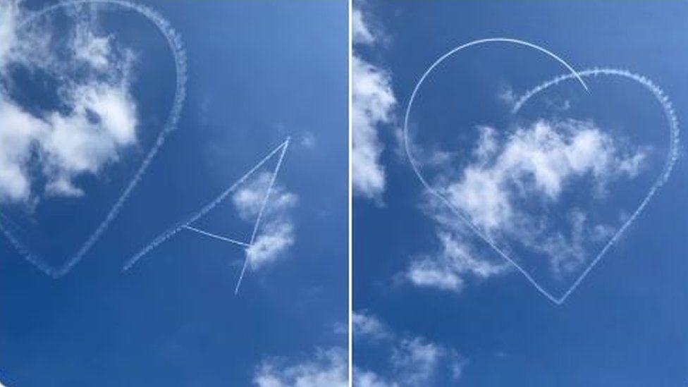 Aerial tribute