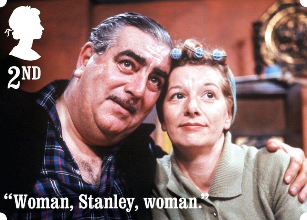 Stan and Hilda Ogden