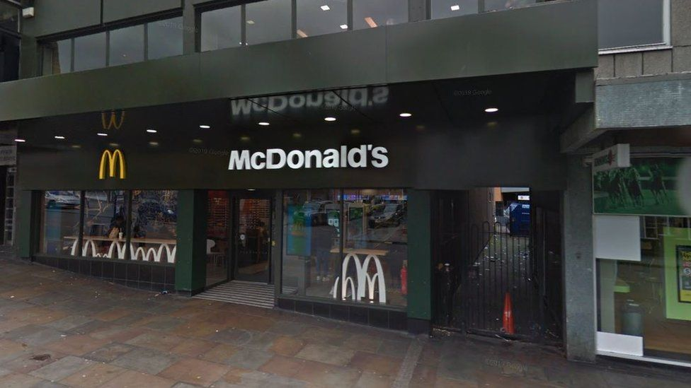 Coventry McDonald's 'drive-by' attack: Teenage boy shot